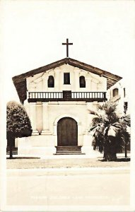 San Fransisco CA  Mission Dolores Church Real Photo Postcard