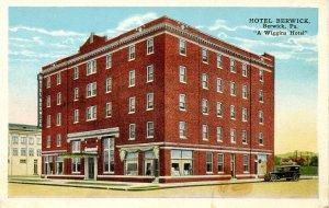 PA - Berwick. Hotel Berwick (A Wiggins Hotel)