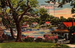 Massachusetts Annisquam Harbor View 1944