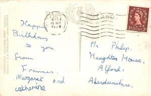 Ayr Auld Brig o'Doon Alloway Banks Tea Gardens Wellington Square Cottage 1954