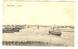 Port-Said. Le Port , EGYPT, 00-10s