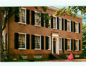 Bardstown KY Old Kentucky Home Senator Judge John Rowan Collins  Postcard # 5737