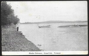 Harbor Entrance Grand Isle Vermont Used c1912