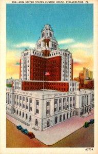 Pennsylvania Philadelphia New United States Custom House