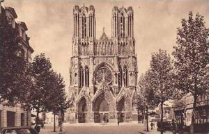 France Reims Cathedrale