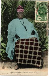 CPA Senegal-Dakar-Une Lébou en tenue de Féte (235436)