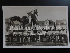 Sweden: Linkoping, Folke Filbyter (av Carl Milles) Old RP Postcard