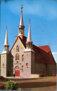 Current Church at Montmorency QC, Quebec, Canada