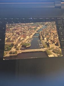 Vintage Postcard: Switzerland , Zurich La Limmat