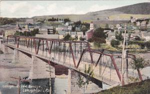LEHIGHTON, Pennsylvania, PU-1911 ;  Lehigh River Bridge