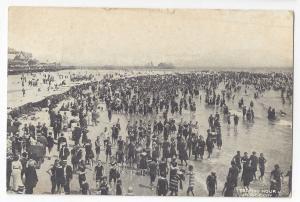 NJ Atlantic City Victorian Bathing Hour Bathing Suits Beach Tents UDB Postcard
