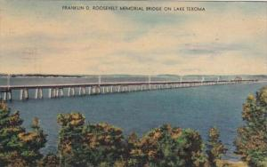 Oklahoma Lake Texoma Franklin D Roosevelt Memorial Bridge 1951