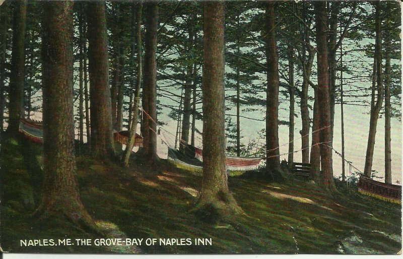 Naples, Maine, The Grove, Bay Of Naples Inn