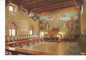 Postal 029683 : Repubblica de San Marino. Sala del Consiglio