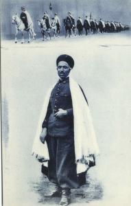algeria, Armed TUAREG TOUAREG on Horses, Unknown Leader (1910s) (4)