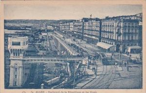 Algeria Alger Boulevard de la Republique et les Quais
