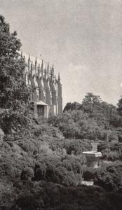 Washington, DC, Washington Cathedral, Buttresses, Vintage Postcard f7213