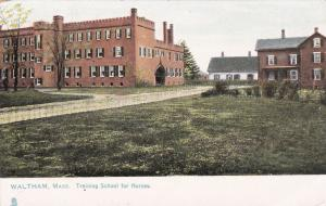 Training school for nurses, Waltham , Massachusetts , 00-10s ; TUCK