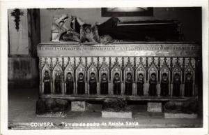 CPA Coimbra- Tumulo de pedra da Rainha Santa, PORTUGAL (760785)