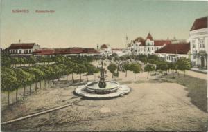 hungary, SZENTES, Kossuth-tér (1910s)