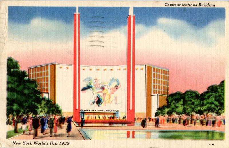 NY - New York World's Fair, 1939. Communications Building
