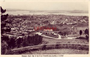 GENERAL VIEW, CITY & HARBOUR, AUKLAND, N.Z.