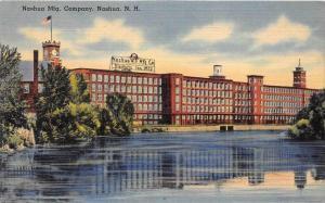 New Hampshire  Nashua   Nashua Manufacturing Company