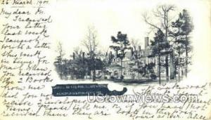 Laurel In The Pines Lakewood NJ Postal used unknown