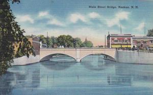New Hampshire Nashua Main Street Bridge