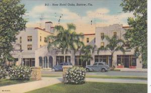 Florida Bartow New Hotel Oaks 1955 Curteich