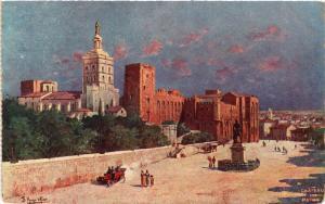 CPA Chateau des Papes (477285)