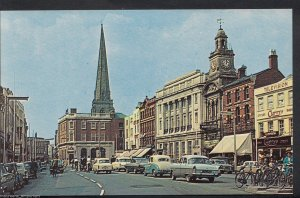 Herefordshire Postcard - High Town and All Saints, Hereford  V105