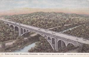 WISSAHICKON , Pennsylvania , 1907 ; Walnut Lane Bridge