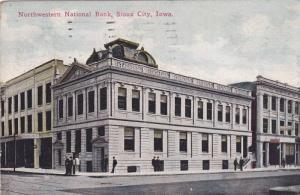 Exterior, Northwestern National Bank, Sioux City, Iowa, PU-1913