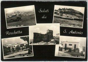 49800 CARTOLINA d'Epoca - FOGGIA provincia : Rocchetta Sant'Antonio 1958