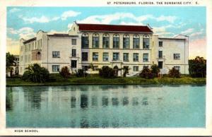 Florida St Petersburg High School Curteich