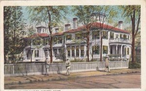 Maine Augusta The Governors Mansion 1924