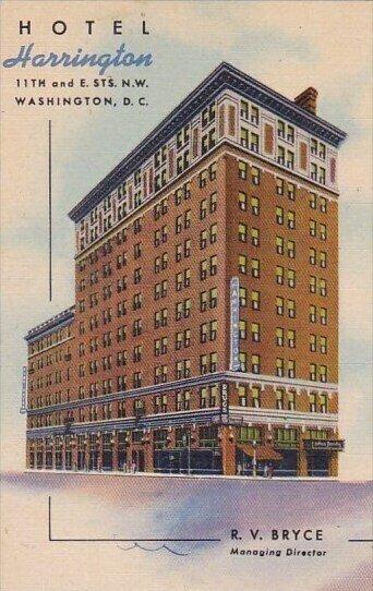 Hotel Harrington Washington D C