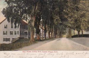 Connecticut Central Village Main Street Residential Section Looking East 1907