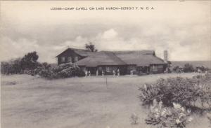 Michigan Lodge Camp Cavell On Lake Huron Detroit Y W C A Artvue