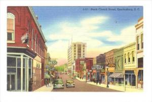 North Church  Street , Spartanburg , South Carolina, 30-40s