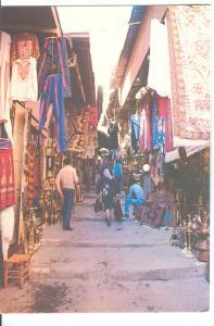 Jerusalem, The old City Market, unused Postcard