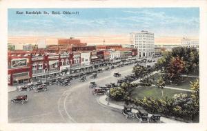 Enid OK Breaking Point Billboard~Clutter Millinery~McCollam~Apts~Klein's 1920s