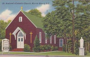 St. Andrew'a Catholic Church, Myrtle Beach, South Carolina, 1930-1940s
