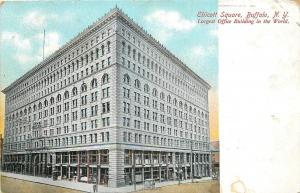 Buffalo New York~Ellicott Square Office Bldg Corner View T P & Co 1909 Postcard