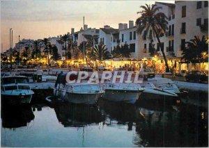 Modern Postcard Costa del Sol Marbella Nueva Andalucia Puerto Banus