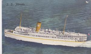 P. & O. Steamship Co. Steamer SS FLORIDA at Sea 1930-40s