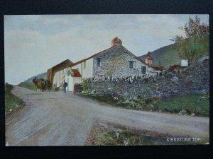 Cumbria KIRKSTONE TOP shows Coach & Horses at KIRKSTONE PASS INN c1908 Postcard