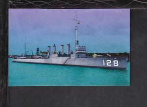 USS Babbitt Postcard
