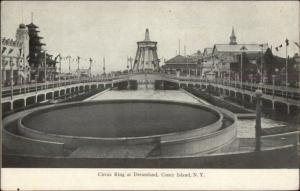 Coney Island NY Circus Ring at Dreamland c1905 Postcard